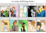 10 ways of Flirting with Tom Hiddleston meme by My-Len