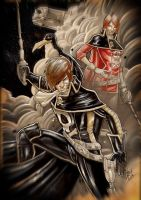 Captain HARLOCK by Vinz-el-Tabanas