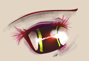 Anime eye color 2 by Zinglish