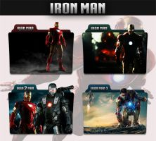 Iron Man Collection 2008 - 2013 Folder Icon by sonerbyzt