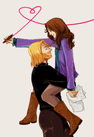 marvel - enough of that (thor + jane) by lambchild