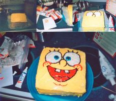 Spongebob Cake by laerry