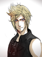 Final Fantasy XV: Prompto by Captain-Toki