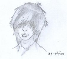 Another Cute Emo Boy by darkside1918
