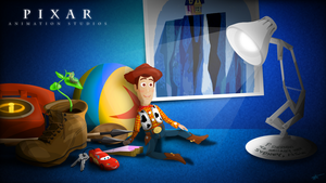 The World of Pixar - Wallpaper by timdw
