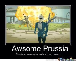 Prussia's Boom Boom. by fluffykittensis