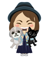 My friend and LEO and POKO by WhiTeFox-jp