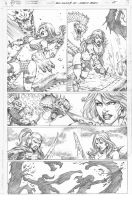 Red Sonja #70_pg 05 by MARCIOABREU7