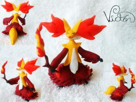 655 Delphox by VictorCustomizer