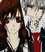 Vampire Knight Yuuki and Zero by LilithKuran