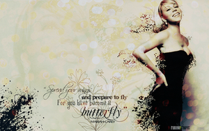 MC - Butterfly Wallpaper by fabianopcampos