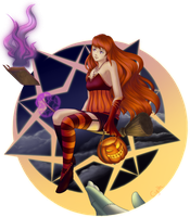 Happy (belated) Halloween! by xCyeth
