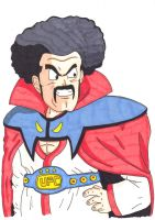 Hercule Satan looking all majestic by kenny-powders