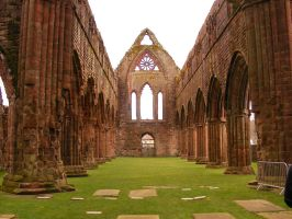 Sweetheart Abbey 20 by Axy-stock