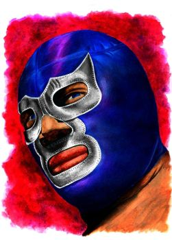Blue Demon by micofon