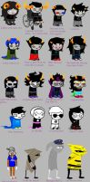 HOMESTUCK ACCORDING TO MY LITTLE SISTER by n4745h4