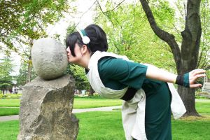 Toph Loves Earth by anijess3