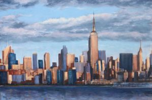 NYC SKYLINE UPDATED by Wulff-Arts