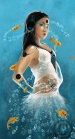 Water Song by  whispersss by DigitalArtNetwork
