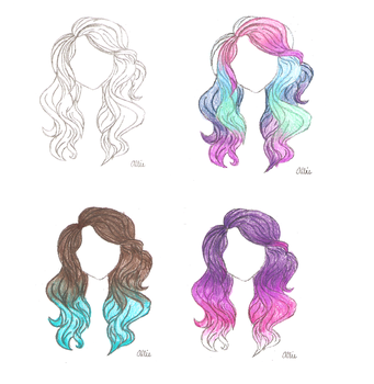 Ombre Hair by Alliekat107