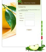 Webdesign FruitConcept 04 by 9naoh