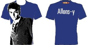 T-Shirt Design Comp Allons-y by louisesaunders