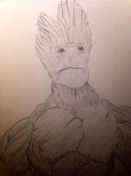 Groot by ArbitraryLabby
