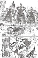 A-Force #3 Pencils by ZurdoM