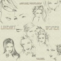 Lineart Women by libidules
