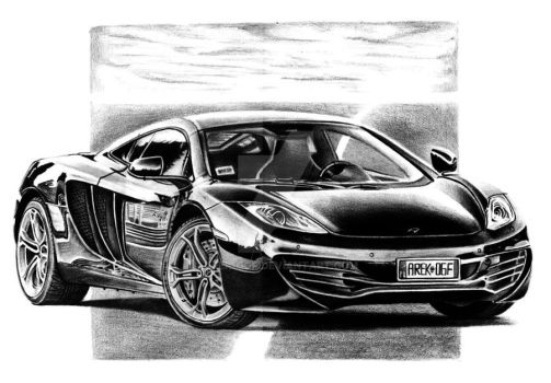 McLaren MP4-12C by Arek-OGF