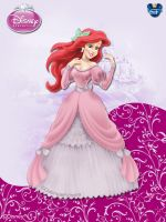 DisneyPrincess - Ariel2 ByGF by GFantasy92
