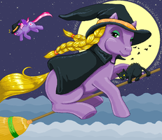 MSPaint Abracadabra Pony by hollowzero