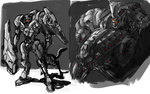 Centaurion Mech by Frost7
