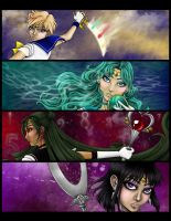 Sailor Moon: Outer Senshi by Flamestaff
