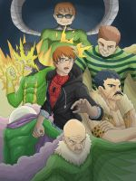 Spider-Man - Sinister Six by nursury0