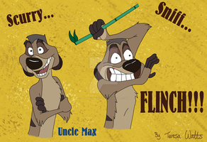 Uncle Max - TLK 3 Colour by AnimationFanatic