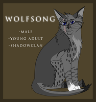 Character Sheet-Wolfsong by VexVamp