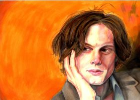 Matthew Gray Gubler by Gwoop
