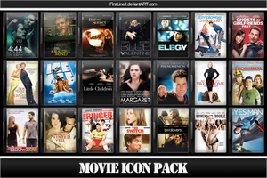 Movie Icon Pack 53 by FirstLine1
