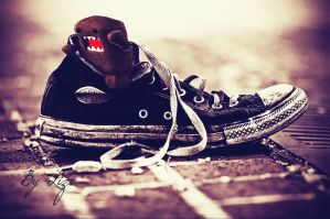 Domo in a shoe. by LizAlasca