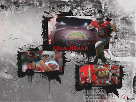 Adam Homan Wallpaper by KevinsGraphics