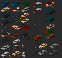 Townscape - vehicles II by themozack