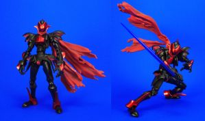 D-ARTS Knight Blazer - Proportion mods by Lalam24