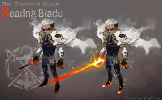 [ADOPTABLE AUCTION] SEARING BLADE [Close] by Tostantan