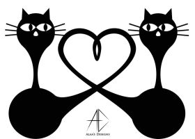 lovecats by AlaasDesigns