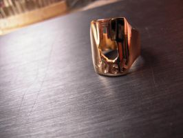 gold F... ring by Debals