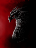 Dark dragon by Louas