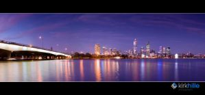 Perth Skyline 2009 by Furiousxr