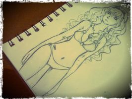 [Doodle] Summer's 'bout to end =)=)=) by Nivilia