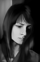 Speed Paint: Girl by Chuck-Nothing